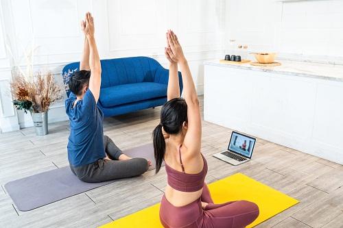 le yoga cours en ligne